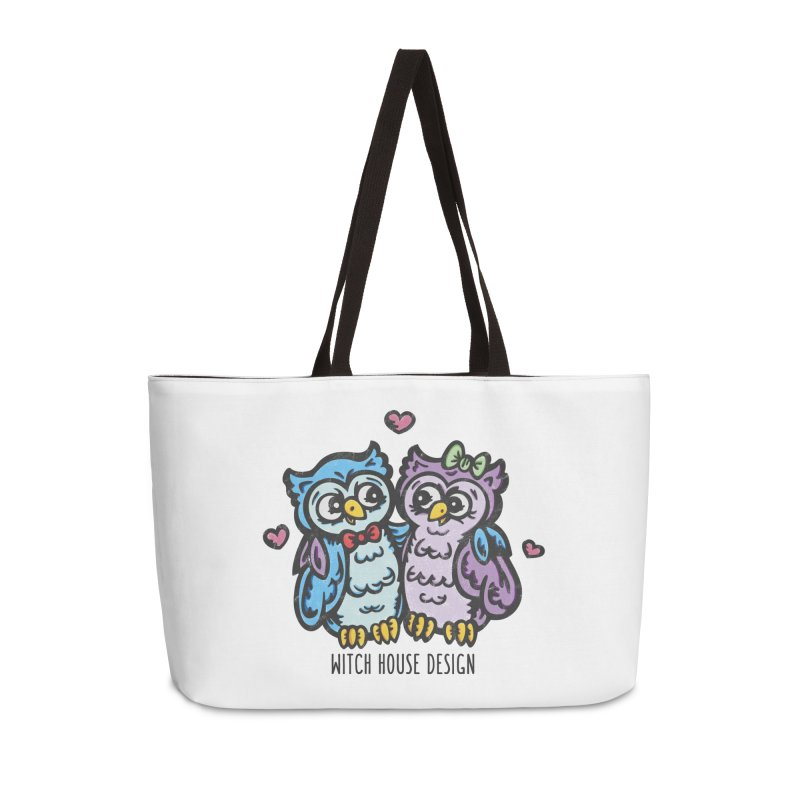 "You're a ""Hoot!"" Accessories Weekender Bag Bag by Witch House Design"