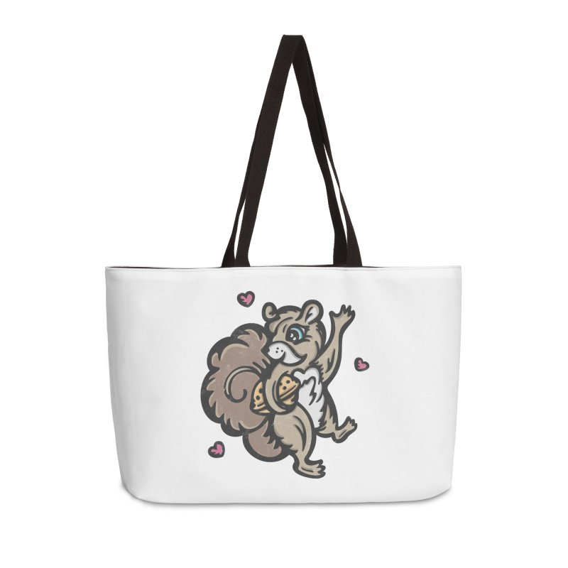 "I'm ""Nuts"" About You! Accessories Weekender Bag Bag by Witch House Design"