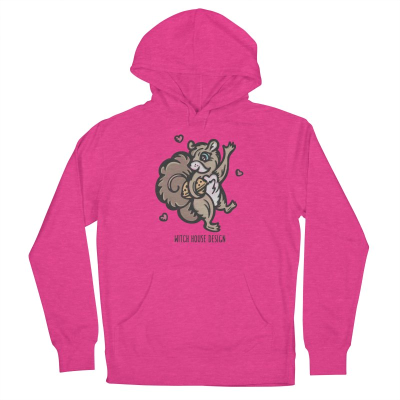 """I'm """"Nuts"""" About You! Women's Pullover Hoody by Witch House Design"""