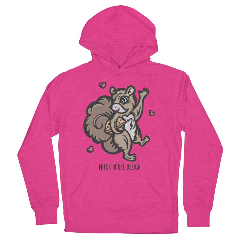 "I'm ""Nuts"" About You! Women's French Terry Pullover Hoody by Witch House Design"