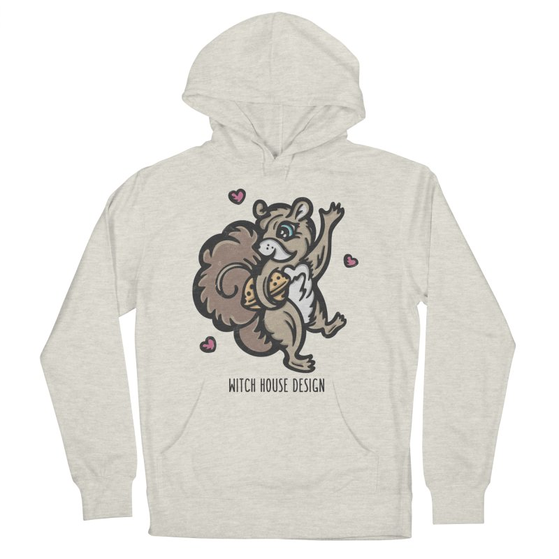 "I'm ""Nuts"" About You! Men's French Terry Pullover Hoody by Witch House Design"