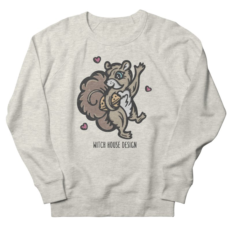 "I'm ""Nuts"" About You! Women's French Terry Sweatshirt by Witch House Design"