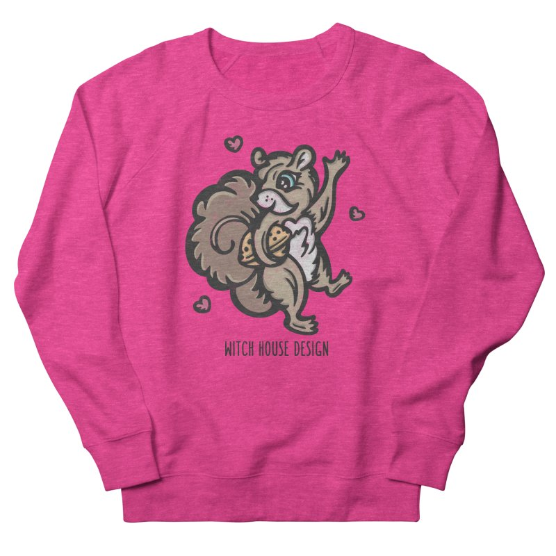 """I'm """"Nuts"""" About You! Men's French Terry Sweatshirt by Witch House Design"""