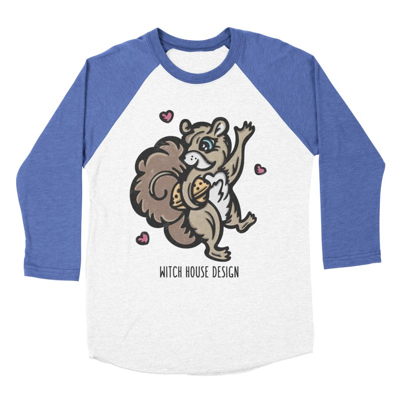 """I'm """"Nuts"""" About You! Women's Baseball Triblend Longsleeve T-Shirt by Witch House Design"""