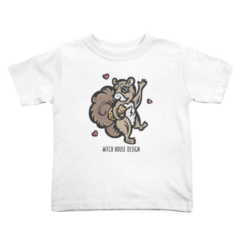 """I'm """"Nuts"""" About You! Kids Toddler T-Shirt by Witch House Design"""