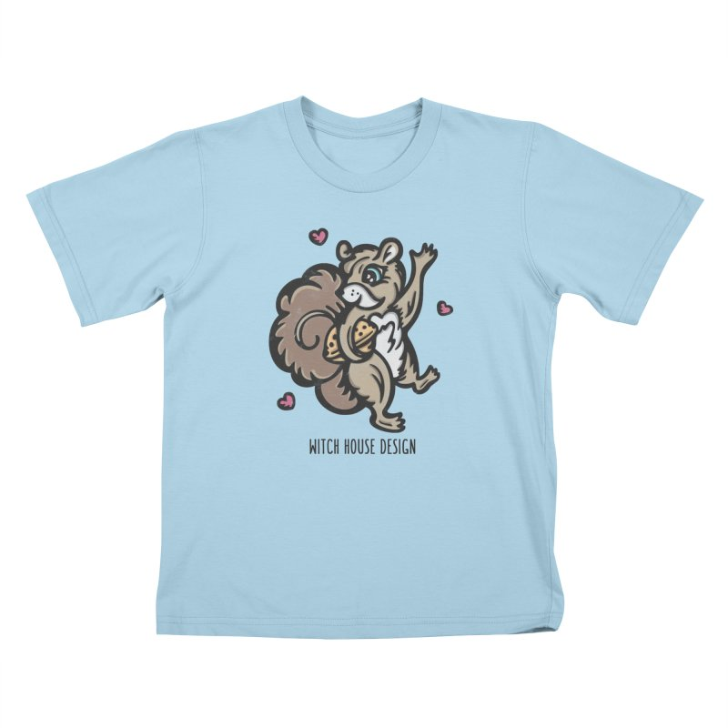 "I'm ""Nuts"" About You! Kids T-Shirt by Witch House Design"