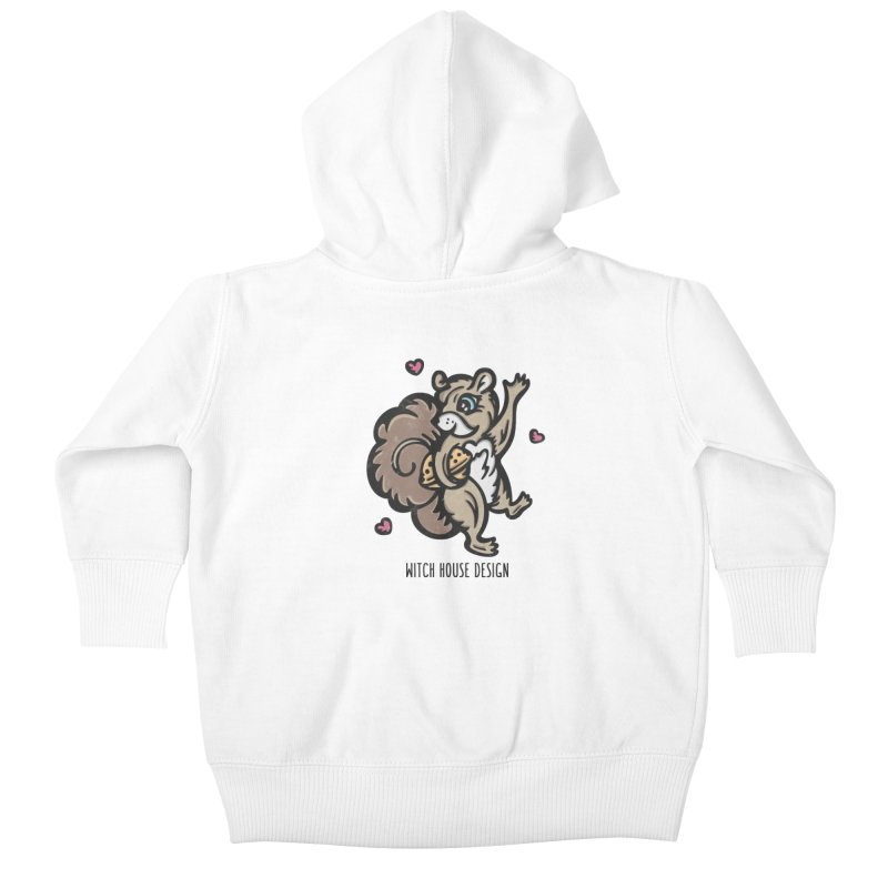 """I'm """"Nuts"""" About You! Kids Baby Zip-Up Hoody by Witch House Design"""