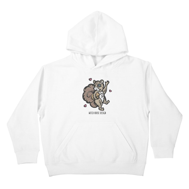 "I'm ""Nuts"" About You! Kids Pullover Hoody by Witch House Design"