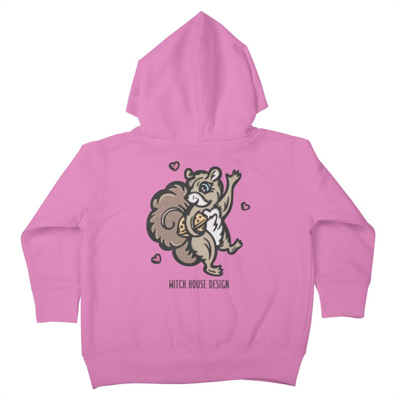 "I'm ""Nuts"" About You! Kids Toddler Zip-Up Hoody by Witch House Design"