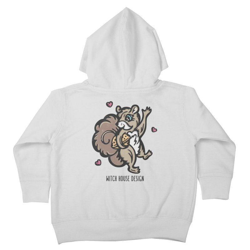 """I'm """"Nuts"""" About You! Kids Toddler Zip-Up Hoody by Witch House Design"""