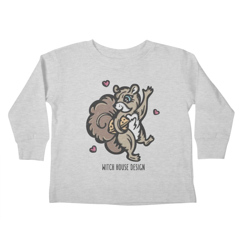 """I'm """"Nuts"""" About You! Kids Toddler Longsleeve T-Shirt by Witch House Design"""