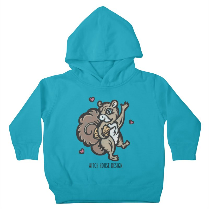 """I'm """"Nuts"""" About You! Kids Toddler Pullover Hoody by Witch House Design"""