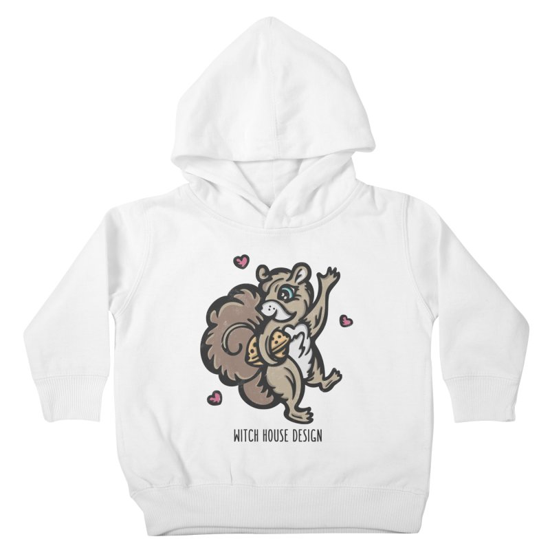"I'm ""Nuts"" About You! Kids Toddler Pullover Hoody by Witch House Design"
