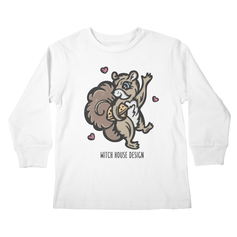 "I'm ""Nuts"" About You! Kids Longsleeve T-Shirt by Witch House Design"