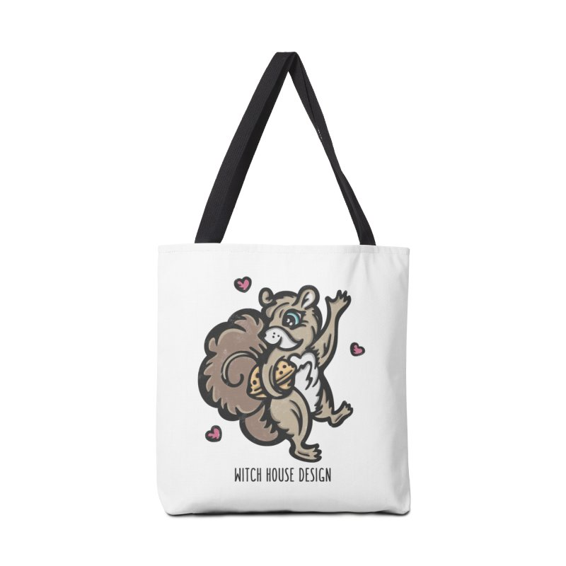 "I'm ""Nuts"" About You! Accessories Tote Bag Bag by Witch House Design"