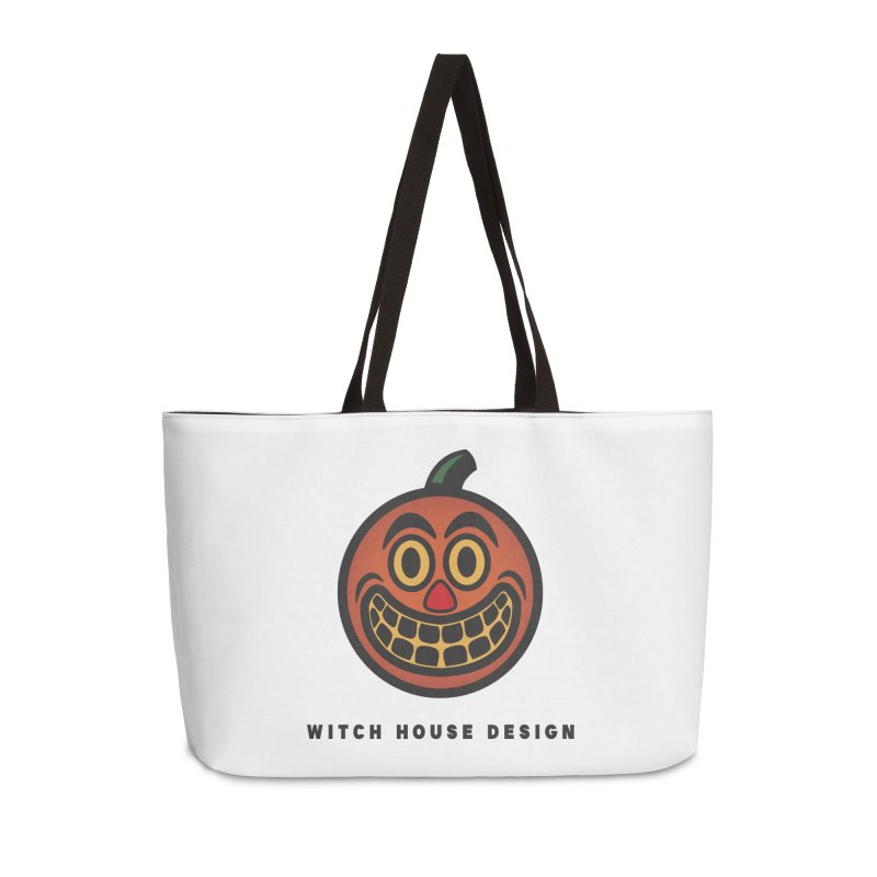 Jack O' Lantern Accessories Weekender Bag Bag by Witch House Design
