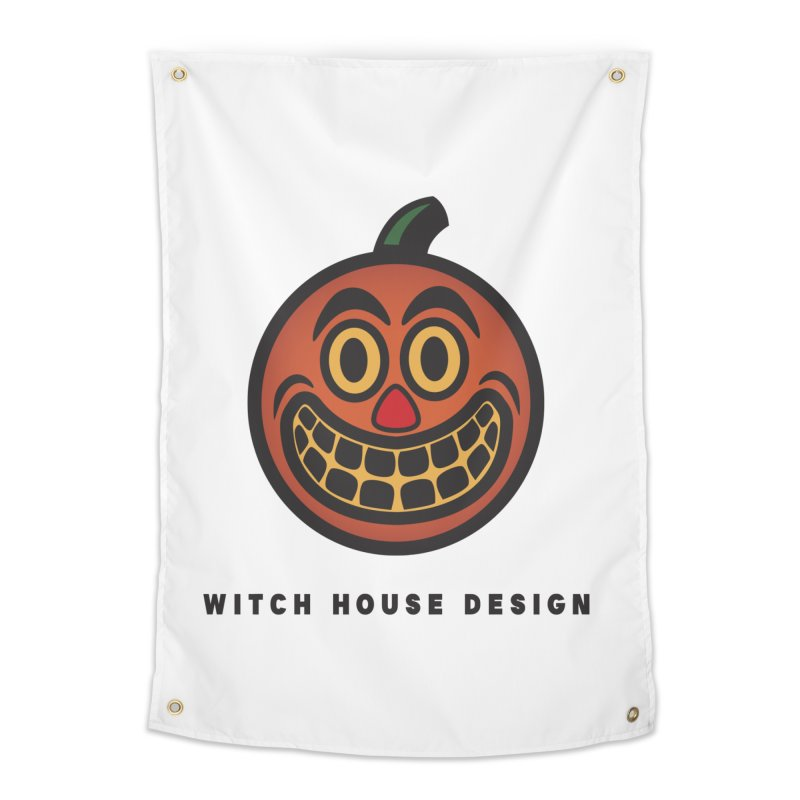 Jack O' Lantern Home Tapestry by Witch House Design