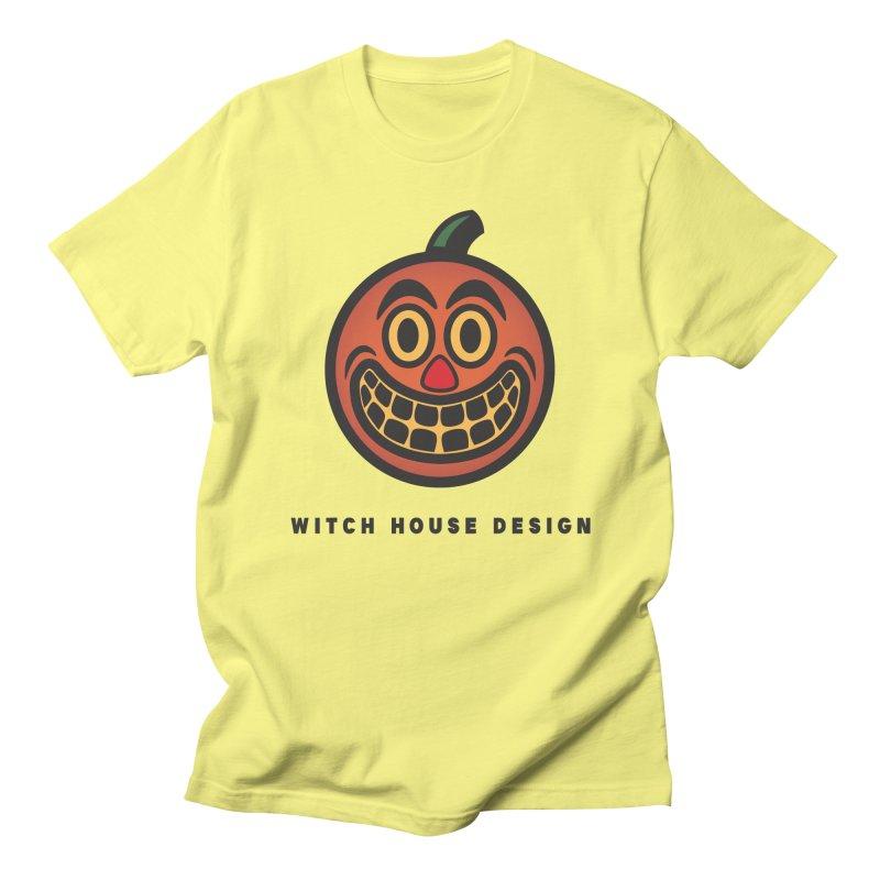 Jack O' Lantern Men's T-Shirt by Witch House Design
