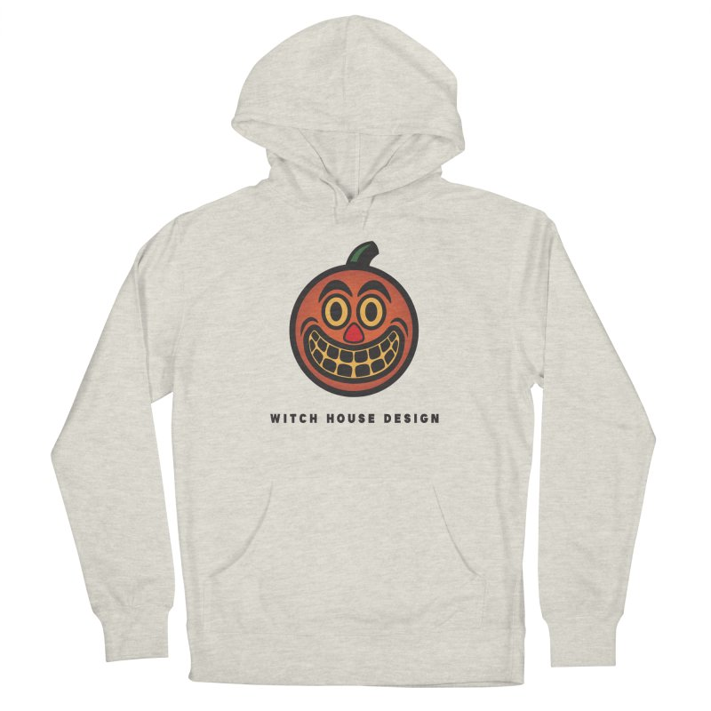 Jack O' Lantern Men's Pullover Hoody by Witch House Design
