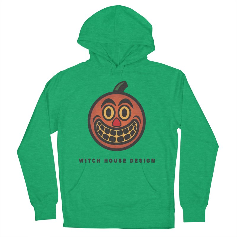 Jack O' Lantern Women's French Terry Pullover Hoody by Witch House Design