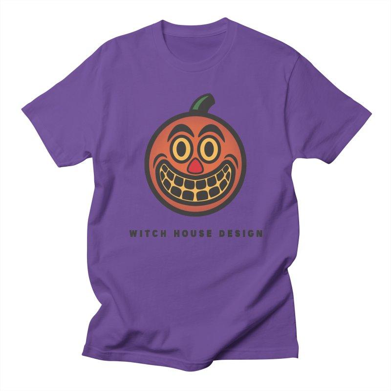Jack O' Lantern Men's Regular T-Shirt by Witch House Design
