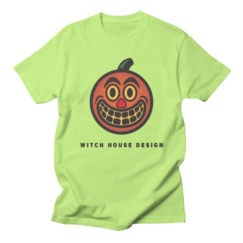 Jack O' Lantern Men's Regular T-Shirt by Witch House Design