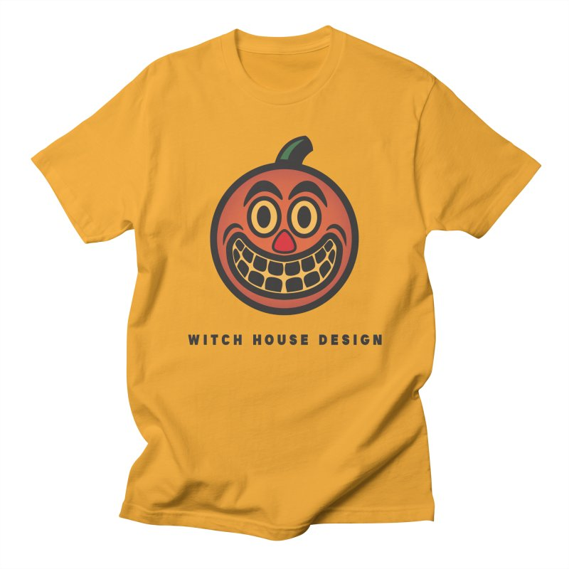 Jack O' Lantern Women's Regular Unisex T-Shirt by Witch House Design