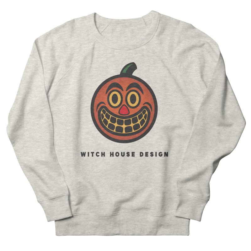 Jack O' Lantern Women's French Terry Sweatshirt by Witch House Design