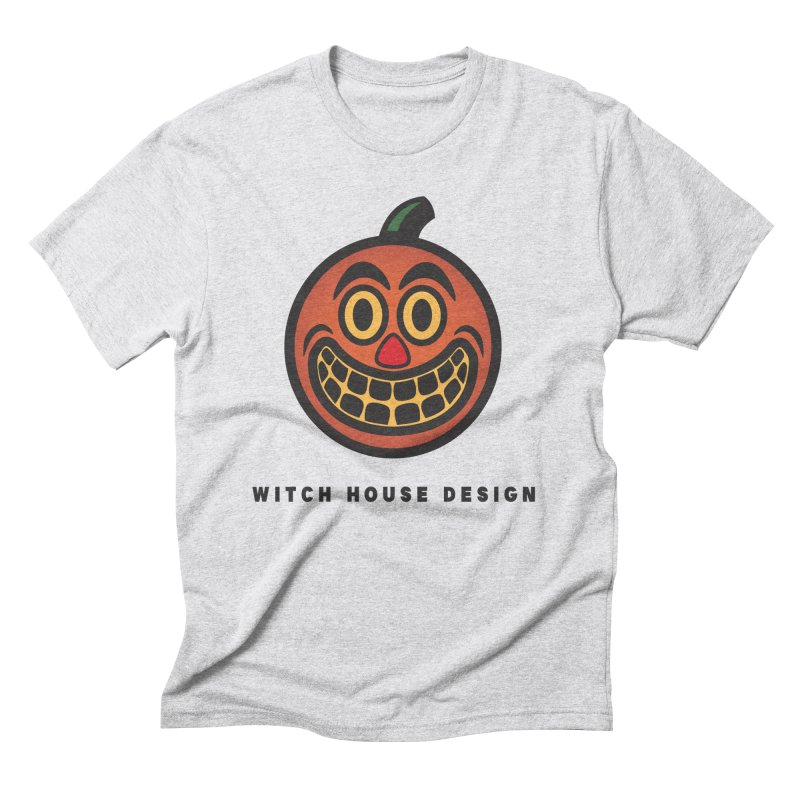 Jack O' Lantern Men's Triblend T-Shirt by Witch House Design