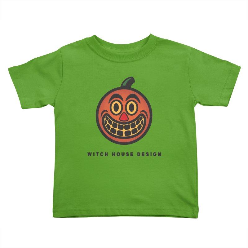 Jack O' Lantern Kids Toddler T-Shirt by Witch House Design
