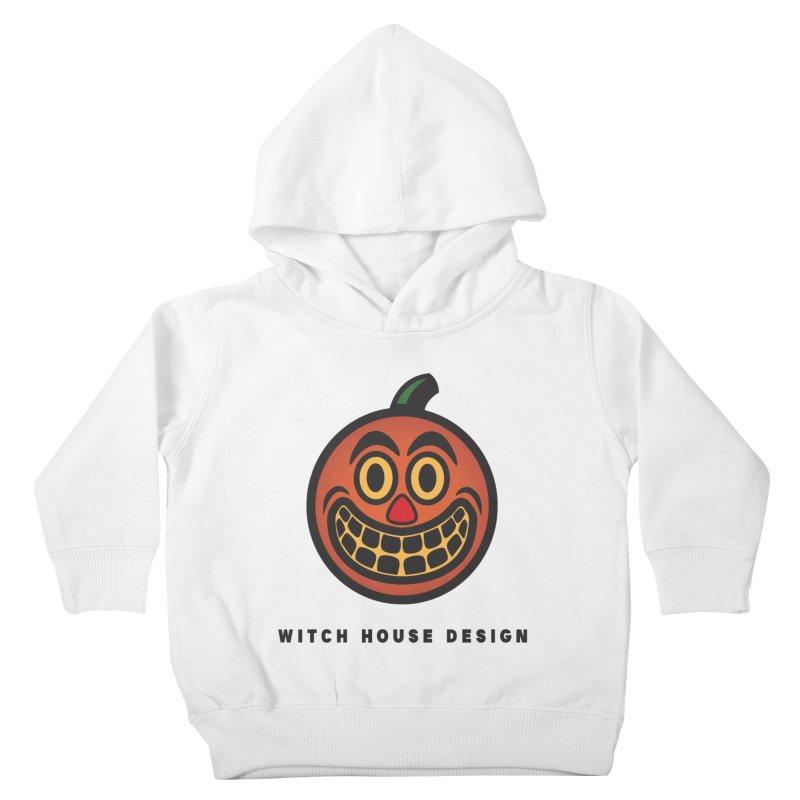 Jack O' Lantern Kids Toddler Pullover Hoody by Witch House Design