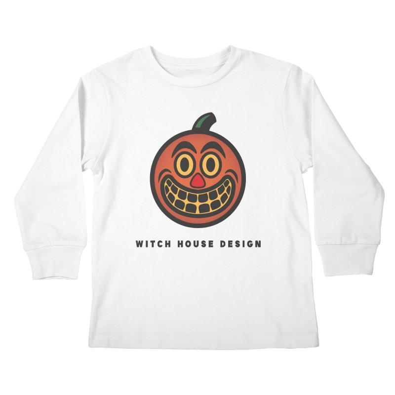 Jack O' Lantern Kids Longsleeve T-Shirt by Witch House Design
