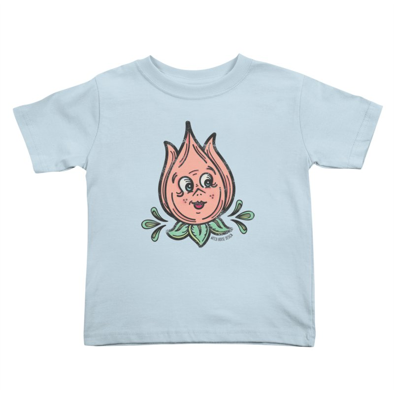 Tulip Kids Toddler T-Shirt by Witch House Design