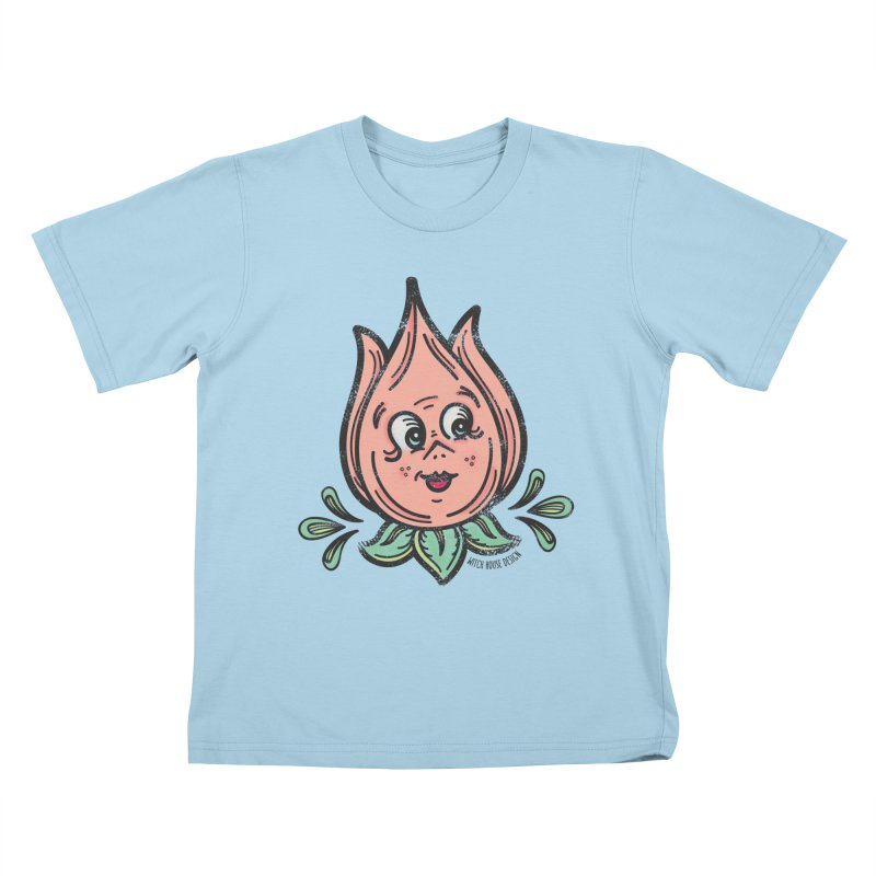 Tulip Kids T-Shirt by Witch House Design
