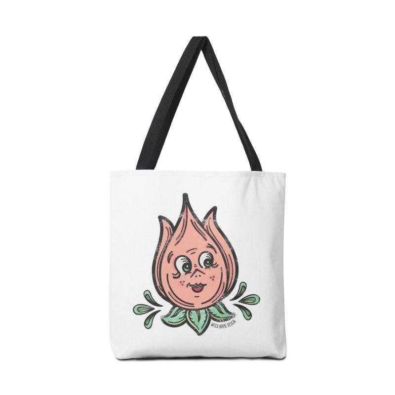 Tulip Accessories Tote Bag Bag by Witch House Design