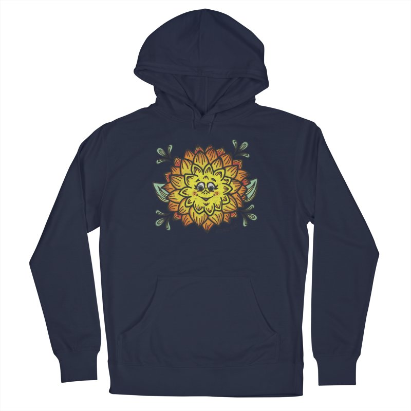 Dahlia Men's Pullover Hoody by Witch House Design