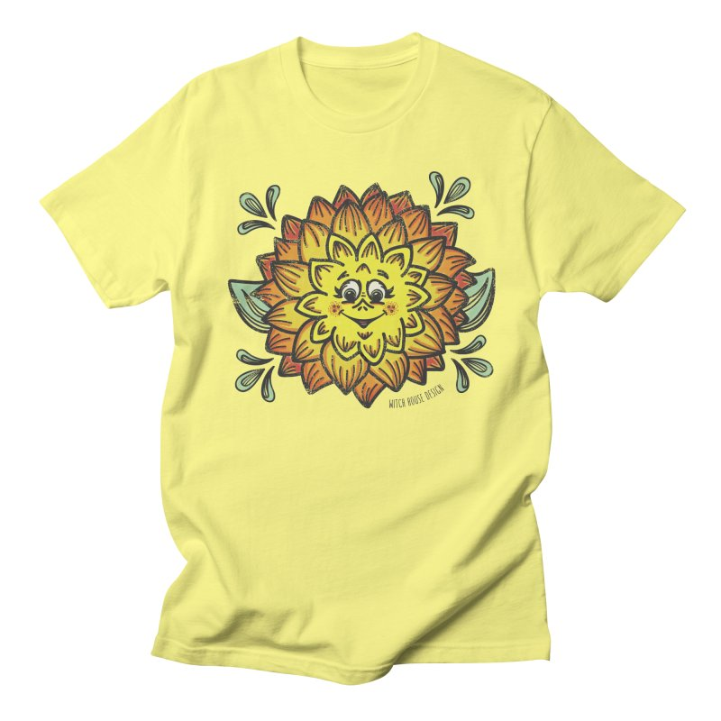 Dahlia Women's Regular Unisex T-Shirt by Witch House Design