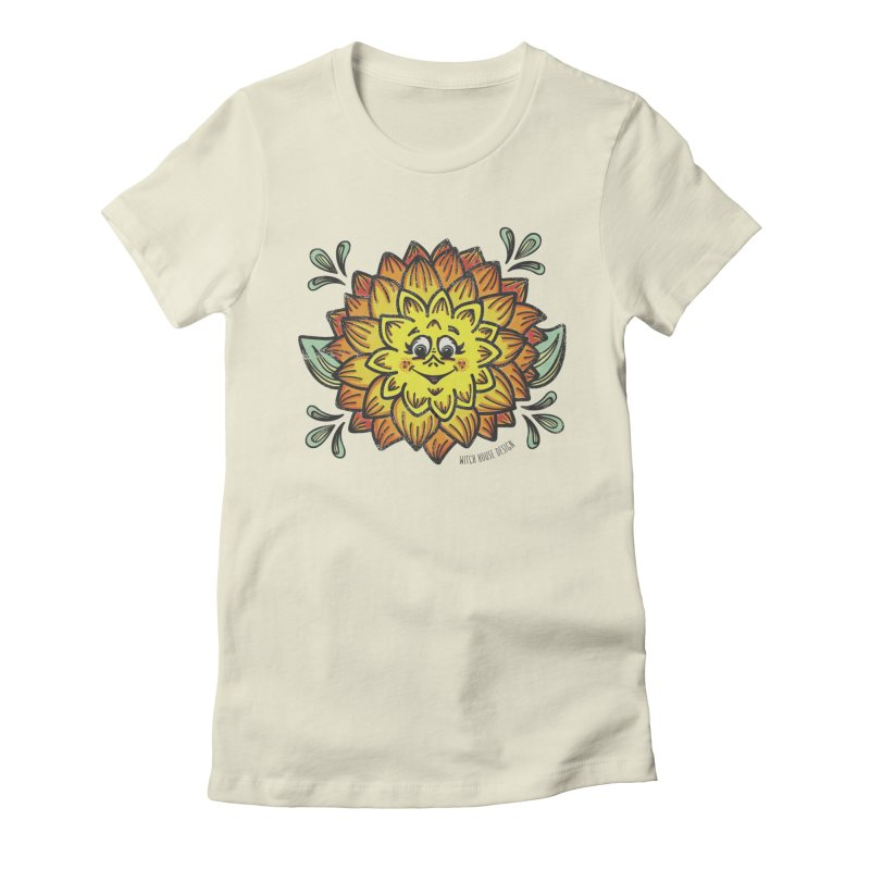 Dahlia Women's T-Shirt by Witch House Design