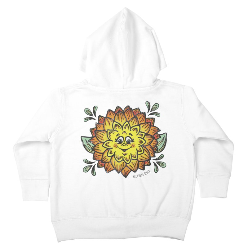 Dahlia Kids Toddler Zip-Up Hoody by Witch House Design