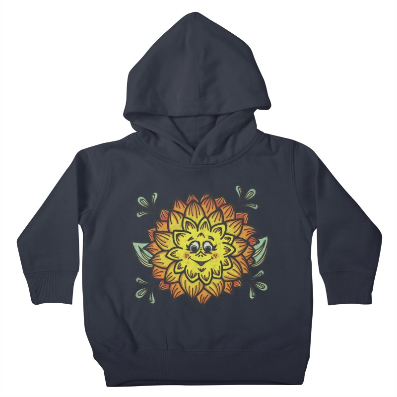 Dahlia Kids Toddler Pullover Hoody by Witch House Design