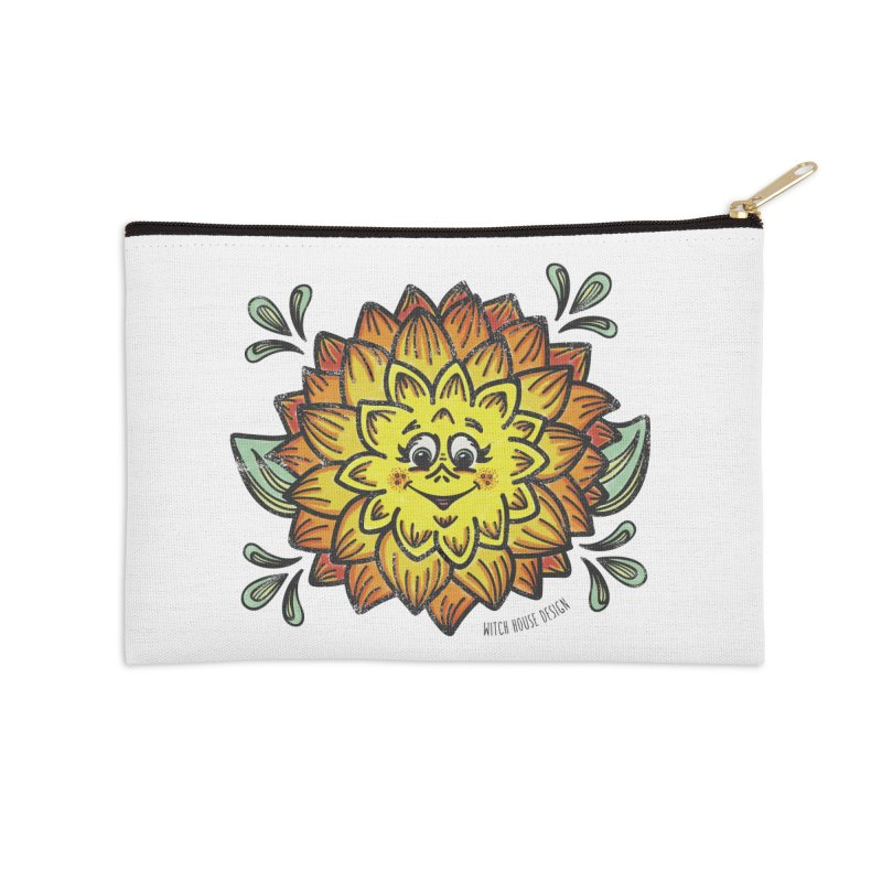 Dahlia Accessories Zip Pouch by Witch House Design