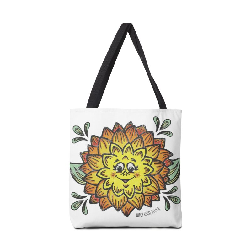 Dahlia Accessories Tote Bag Bag by Witch House Design