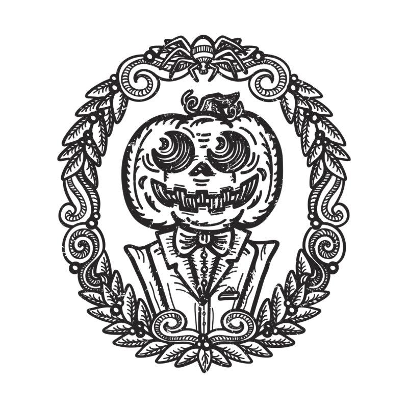 Pumpkin Gentleman Portrait by Witch House Design