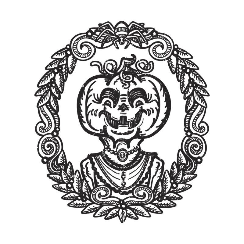 Pumpkin Lady Portrait by Witch House Design