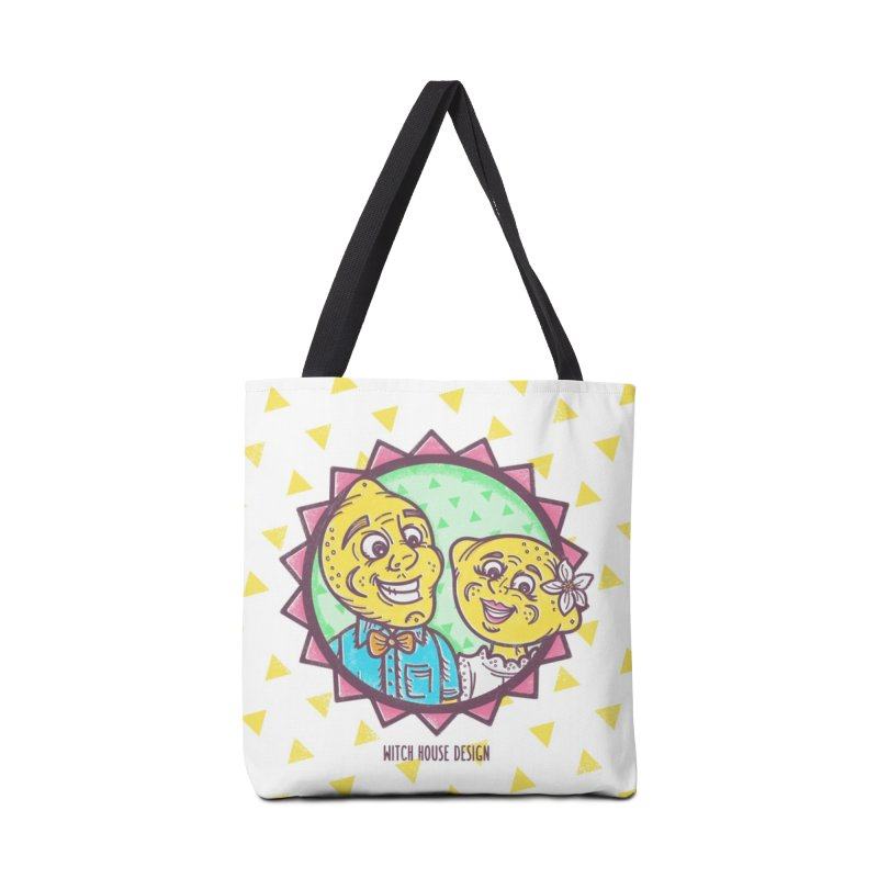 Easy Breezy Lemons Accessories Tote Bag Bag by Witch House Design