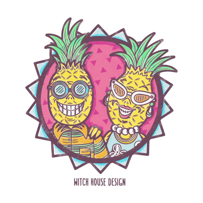 Pineapples in Paradise   by Witch House Design