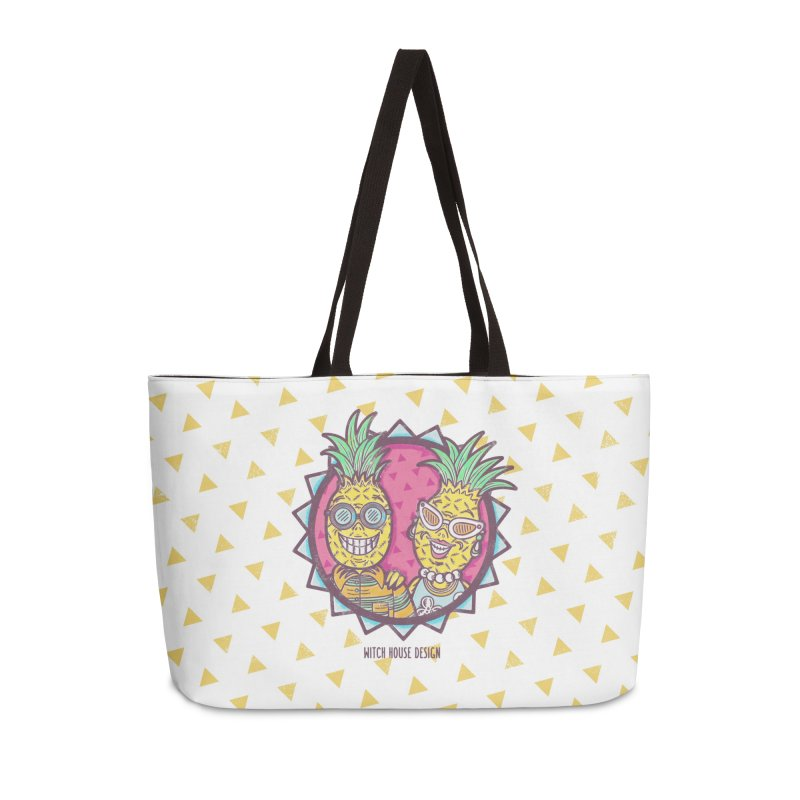 Pineapples in Paradise Accessories Weekender Bag Bag by Witch House Design