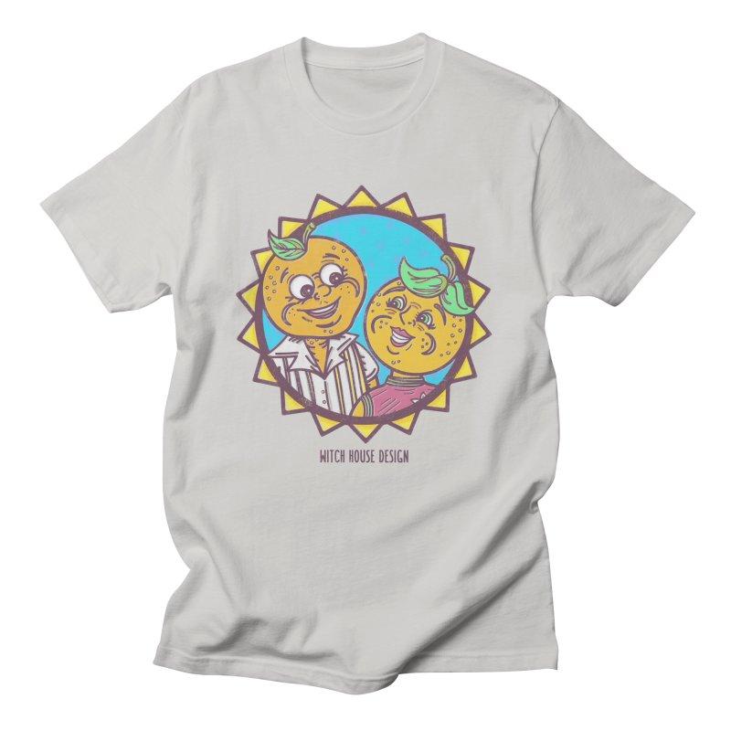 Sun-sational Oranges Men's T-Shirt by Witch House Design