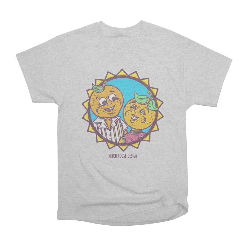 Sun-sational Oranges Men's Heavyweight T-Shirt by Witch House Design