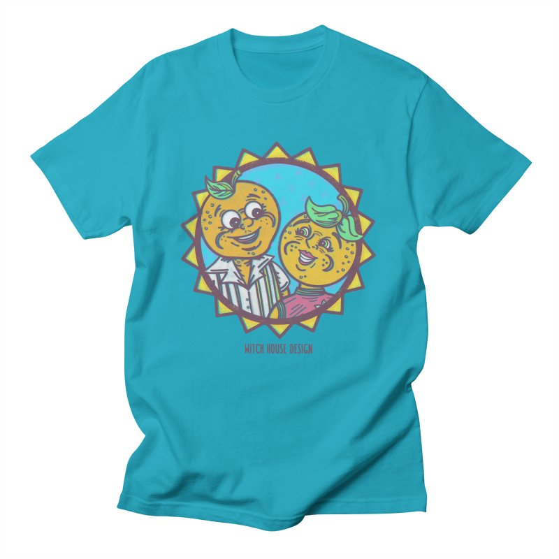 Sun-sational Oranges Women's Regular Unisex T-Shirt by Witch House Design